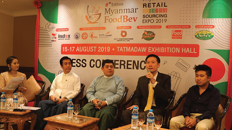 "PRESS RELEASE : THE 6TH MYANMAR FOODBEV & THE 4TH MYANMAR RETAIL SOURCING EXPO AIMS TOWARD ""GLOBAL FOOD AND RETAIL TECHNOLOGY CONNECT."""