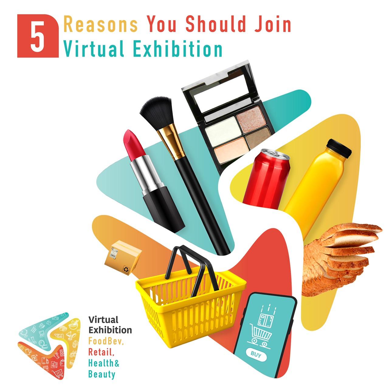 5 เหตุผลที่คุณควรตัดสินใจออกบูธในงาน Virtual (Online) Exhibition